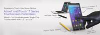 Atmel erweitert den Einsatzbereich der führenden maXTouch T-Serie in den Smartphone- und Phablet-Markt