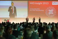 Mehr als 530 Teilnehmer beim BPM-Kongress MID Insight 2013 in Nürnberg