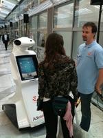 Digital Signage goes Robotik