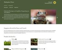 NEU: Marktplatz Natur, die Angebotsplattform für Natur-und Klimaschutzprojekte in Deutschland