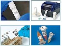 Laboretiketten und Etikettendrucker für das Kennzeichnen von Laborproben
