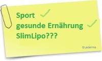 SlimLipo™-Methode - Motivationshilfe für die Traumfigur