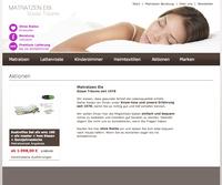 Marken Matratzen online - inklusive Beratung