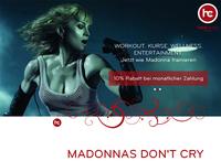 Madonnas Gym - Testmitgliedschaft und Preisrabatt für Hard Candy