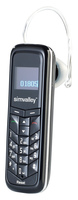 simvalley MOBILE 2in1 Handy & Bluetooth-Headset SHX-660.duo