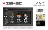 Z-N720: Zenec 2-DIN Naviceiver mit innovativer Navi-Software