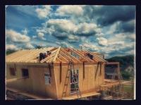 Baustellen Besichtigung NUR HOLZ - Massivholzhaus