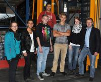 Fünf neue Auszubildende starten bei Frankenfeld