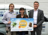 Gewinnspiel zum 25. Firmenjubiläum: Gutjahr schickt Fliesenlegermeister in den Urlaub