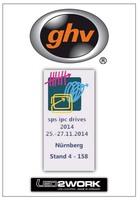 ghv Antriebstechnik Grafing auf der SPS Nürnberg 2014