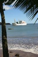 Mit dem Frachtschiff ins Paradies