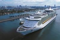 Premiere in der Kreuzfahrt: Kabinen mit virtuellen Balkonen Anfang 2014 auf dem Kreuzfahrtschiff Navigator of the Seas von Royal Caribbean International