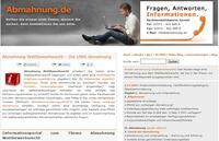 Auf Abmahnungen richtig reagieren - hilfreiches Portal im Internet