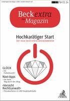 Beckextra Das Magazin: Neues Kundenmagazin blickt in die Zukunft
