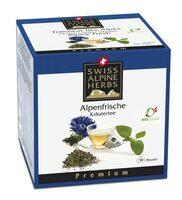Gesunder Bio Tee und süße Plätzchen für kalte Tage