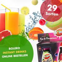 Bolero Drinks - die Innovation auf dem Getränkemarkt