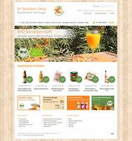 Sanddorn-Shop.com bietet Sanddorn-Produkte direkt vom deutschen Erzeuger