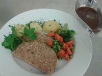 Mittags ist was los - da steppt sogar das Gemüse in der Pfanne! (von Claudia Sauer)