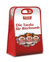 Tyskie: Bierkühltasche für heiße Tage und neue Werbekampagne in NRW