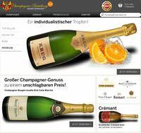 Champagner-Bestellung.de: die ebrosia GmbH & Co. KG launcht einen neuen Webshop