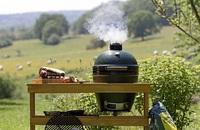 BIG GREEN EGG - stilvoller Kochallrounder für Küche und Garten