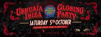 Closing Party 2013 am 5. Oktober:  Das Ushuaïa Ibiza Beach Hotel feiert das Ende einer weiteren erfolgreichen Saison.
