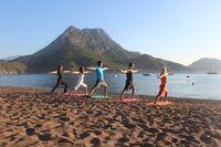 Yogaurlaub an der lykischen Küste zur Granatapfelzeit