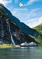 Azamara Club Cruises stellt neuen deutschsprachigen Kreuzfahrt-Katalog 2014/15 vor +++ Websites in neuem Gewand