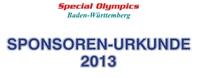 Das  relexa Waldhotel Schatten in Stuttgart sponsert  die Special Olympics Baden- Württemberg e.V.