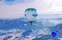Viel heiße Luft beim Kaiserwinkl Alpin Ballooning