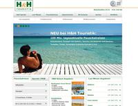 H&H Touristik  produziert dynamische Pauschalreisen - FlexPlayer von Bewotec versorgt Bistro Portal und Traffics mit Daten