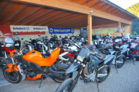 Urlaub mit dem Motorrad Südtirol Dolomiten