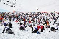 Schatzsuche im Schnee in Obertauern