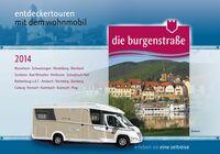 Burgenstraße mit neuer Broschüre für Wohnmobilreisen