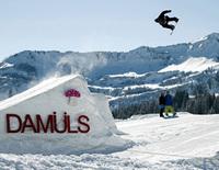 Planmäßige Eröffnung des Burton Snowparks in Damüls