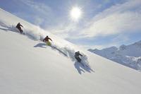 Sonnenschnee für Wintersport-Gourmets
