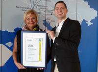 InterSky mit Aviation Excellence Award ausgezeichnet