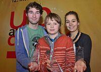 FilmKometen für die besten Nachwuchsfilmer: Preisverleihung bei up-and-coming 2013