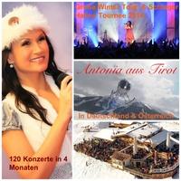 Antonia aus Tirol auf großer Live Tournee 2014