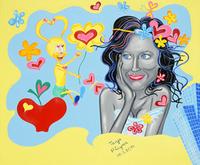 Katy Perry trifft Kunst mit Pop Art Künstlerin Tanja Playner.