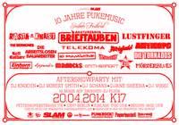 10 Jahre Pukemusic Konzert - 18 Bands auf 3 Bühnen plus DJ-Floor