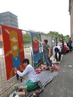 Große StreetArt-Ausstellung in der Saarbrücker Bahnhofstraße - Online-Wettbewerb auf Facebook vom 28. April bis 9. Mai
