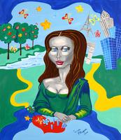 Mona Lisa  von Pop Art Künstlerin Tanja Playner.