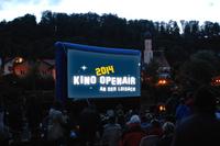 Kino-Open-Air am Fluss
