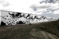 ´t Skildermuurtje: Texeler Hafenmauer wird zum XXL-Kunstobjekt