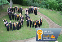 SonntagsChor Rheinland-Pfalz für Deutschen Engagementpreis 2014 nominiert