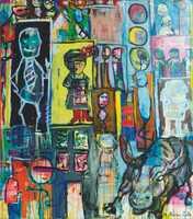 Meral Alma zeigt kraftvolle Werke bei Kunstausstellung in Düsseldorf