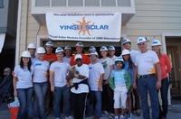 Erfolgreiche Partnerschaft: Yingli Green Energy und GRID Alternatives unterstützen gemeinsam einkommensschwache Familien in den USA