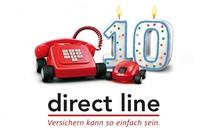 Auf der Überholspur: Direct Line Deutschland feiert 10-jähriges Jubiläum