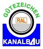 RAL Gütezeichen steht für intakte Abwasserleitungen und -kanäle